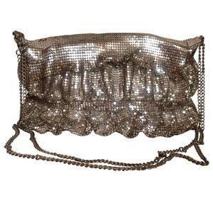 🇨🇦 Vintage mesh clutch bag